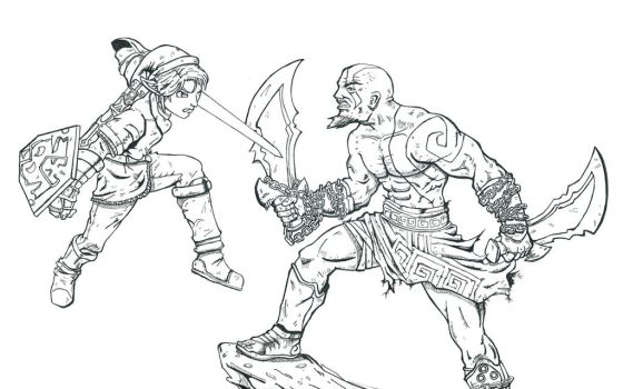 Link and the beast... by dreno360
