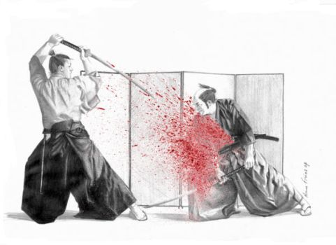 The Bloody Duel by nunofrias