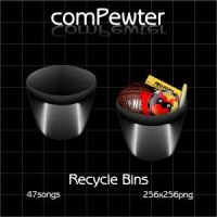 comPewter _ Recycle Bins by 47songs