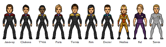 Star Trek: Voyager (GenderBend) by Bry-Sinclair