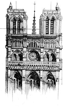 Notre Dame by BLundeArt