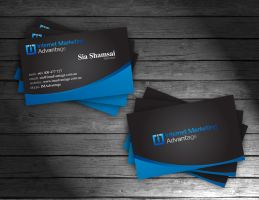IMA business cards by shahjee2