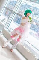 Macross Frontier - sing your song by Firiless