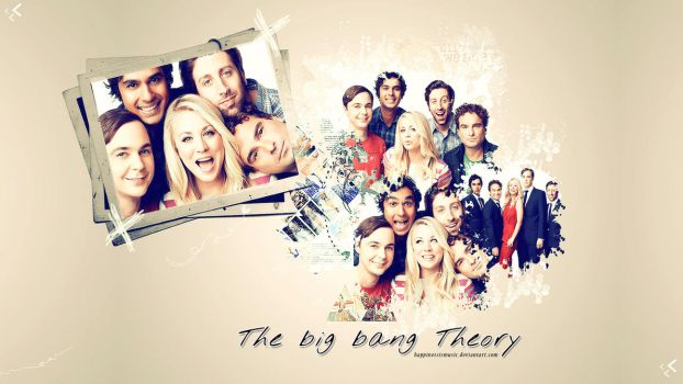 The Cast Of Big Bang Theory Wallpaper By HappinessIsMusic On DeviantArt