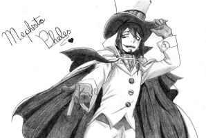 Mephisto - Ao no Exorcist by Gbtz007