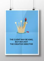 The Client May Be King, but he's not the CD by gufranshaikh