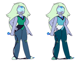 FAN-FUSION - Amethyst and Peridot by Fyreglyphs