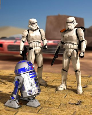 Is that the Droid.. by RetroDevil