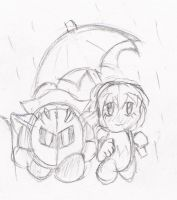 An Umbrella by papersak
