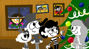 Merry Christmas from Rachetcartoons by rachetcartoons