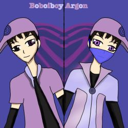 boboiboy Argon and chemi by Manahan-Aundrey