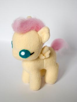 Baby Fluttershy Plush Prototype by ivy-cinder