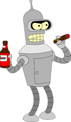 Bender Bending Rodriguez by car0003