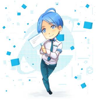 Internet Explorer- b-day gift to ROSEL! by xTickie-Tockx