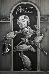 Ardee the Boy Robot by 47ness