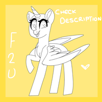 -FREE TO USE- SmilingMare Base -Check Description- by SleepySuika