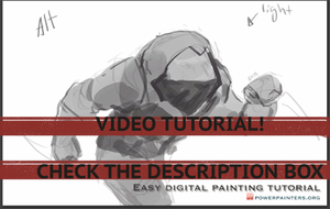 Easy Digital Painting Tutorial by Taylor-payton