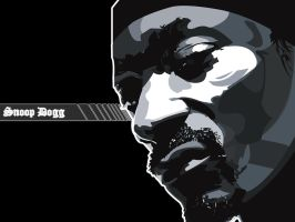 Snoop Dogg Wallpaper - Black by bem69