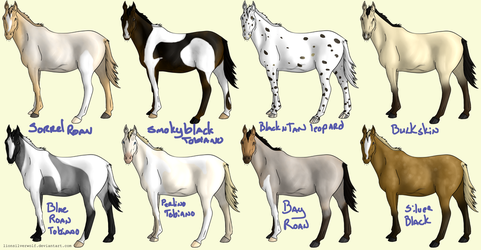 OPEN 20 Point Horse Adopts by lionsilverwolf