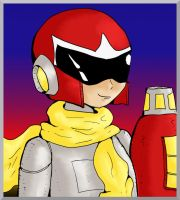 Let's Draw Protoman (See Description for Video) by Fragraham