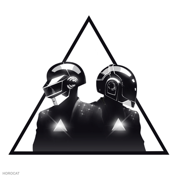 Daft Punk Triangle by HoroCat