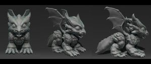 Dragonbaby by overmind81