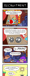 Kirby Comic: Recruitment -NOW IN TECHNICOLOR- by NostalgiaLad2