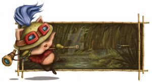 Teemo Jungling by newcomix