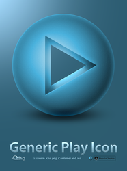 Play Icon by Thvg