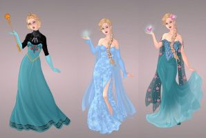 Elsa Wardrobe in Goddess Scene by autumnrose83