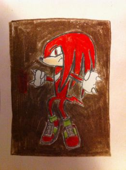 10 Min Knuckles drawing by ezioauditore97