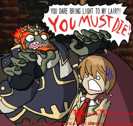 Ganondorf dislikes Death Note by BrokenTeapot
