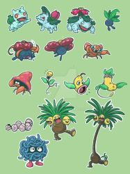 Grass stickers. by Hu-Gon-By