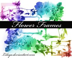 Flower Frames by Lileya
