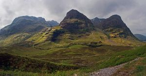 Three Sisters of Glencoe by Pistolpete2007