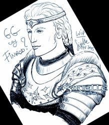 Gg or Finrod by Sirielle