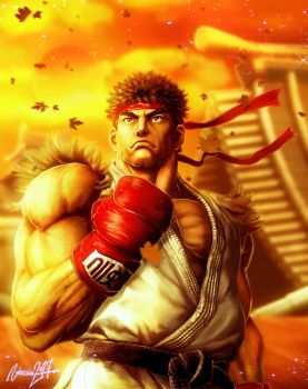 Ryu SF V by viniciusmt2007