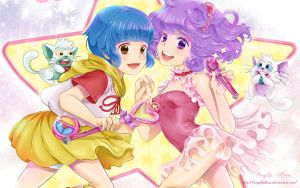 Wallpaper Creamy Mami by AngelaLara