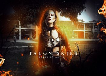 Talon Skies Character Manipulation by lottesgraphics