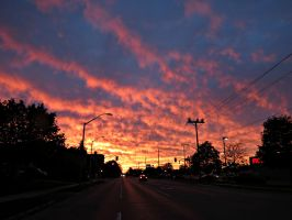 Awesome October Sunset by Michies-Photographyy