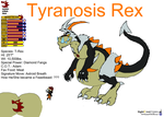Feastbeast: TyranosisRex by NightCrestComics