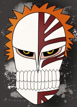 Ichigo Hollow Mask by Comik93