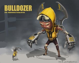 Bulldozer by CaconymDesign