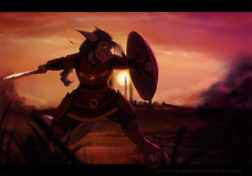 What Makes a Warrior - 2018 by NovaTheArtist