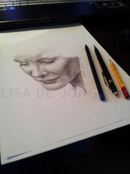 Jessica Lange [unfinished] by LisaCooper91