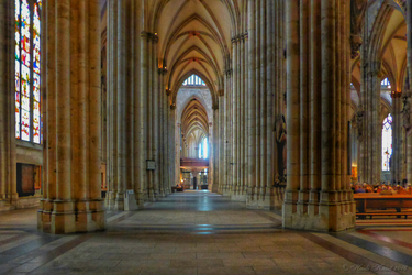The Cathedral Of Cologne by HeidiK1