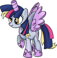 My Little Pony - Derpy Twilight Sparkle Costume by kaizerin