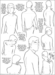Over the Shoulder (male) Tutorial by DerSketchie