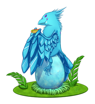 Commission Anivia by monteruis