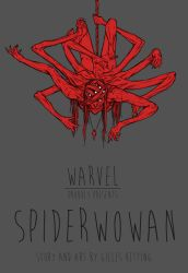 Spiderwoman - the variant cover by Gillesketting